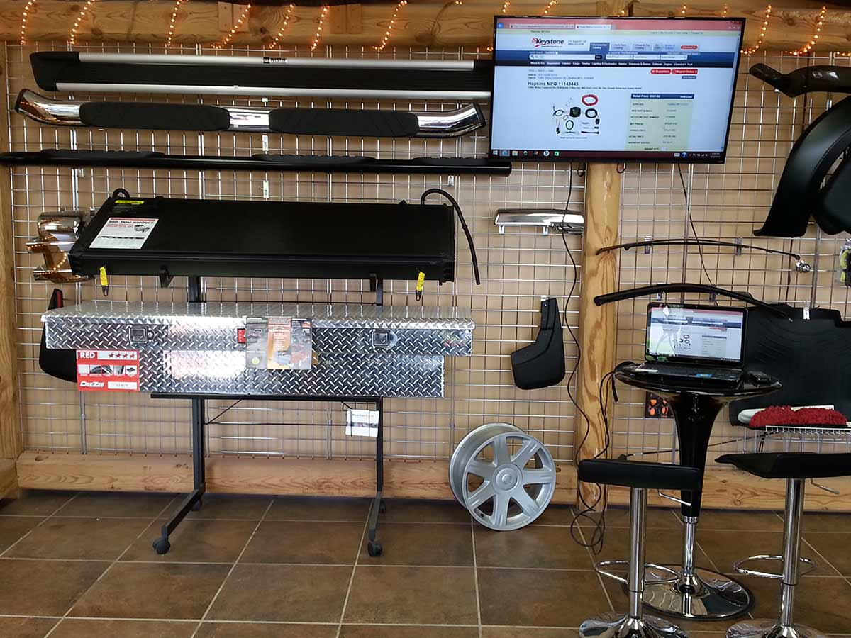 Truck Accessories available at Woody's Outdoor Power Equipment